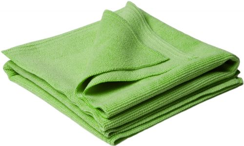 Polishing Seamless Green Towels